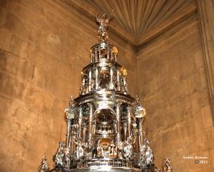 Custodia de Juan de Arfe. Catedral de Sevilla, Corpus de 2013