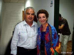 Con Dulce Pontes. 2005