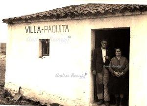 VILLA PAQUITA- BIGOTE. Miguel y Paquita